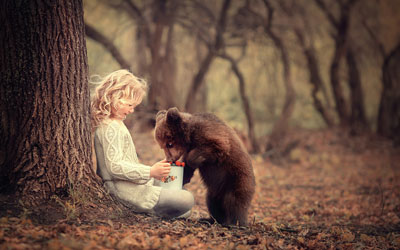 детские стихи про медведя