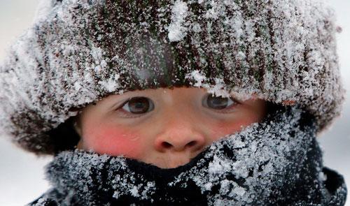 Стих про мороз для детей