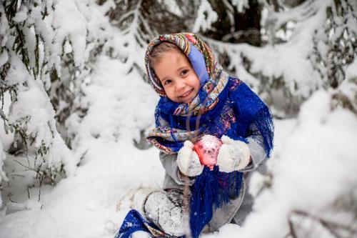 Короткие и красивые стихи про мороз для детей