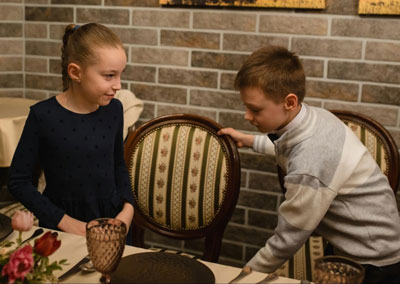 Этикет для детей дошкольного возраста за столом 1