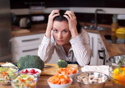 Продукты от стресса для женщин