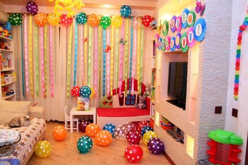 как организовать детский праздник день рождения дома 3