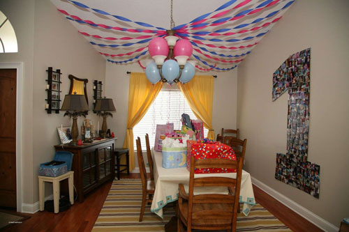 как организовать детский праздник день рождения дома 4