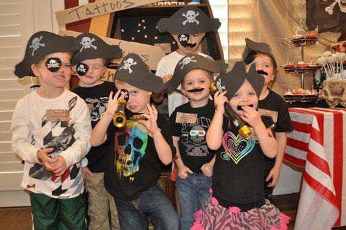 тема пираты на детский день рождения