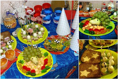 оформление блюд на детский День Рождения 2