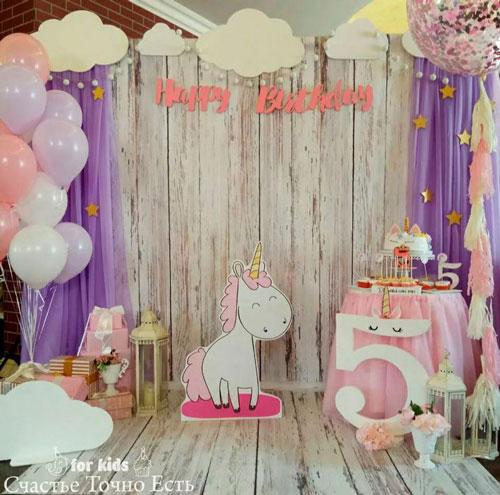 фотозона на детский день рождения дома