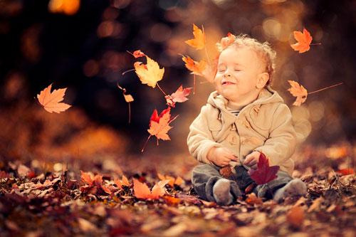 Стихи про октябрь для детей в школу