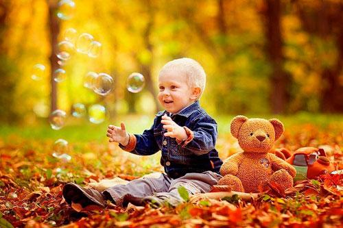 Стихи про октябрь для детей 5-7 лет