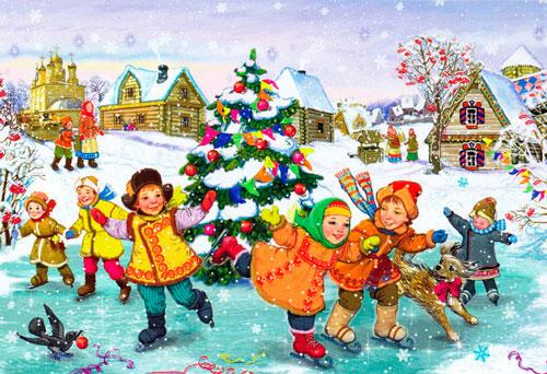 Стихи про Новый год для детей 5-7 лет