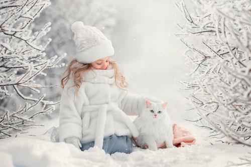 Стихи про снег для детей 7-9 лет