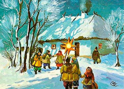 Колядки на Рождество для детей 5-7 лет