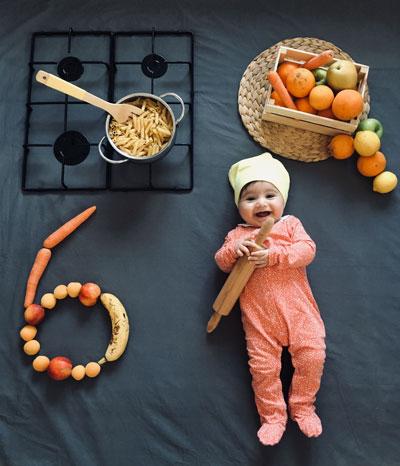 6 месяцев ребенку, особенности развития