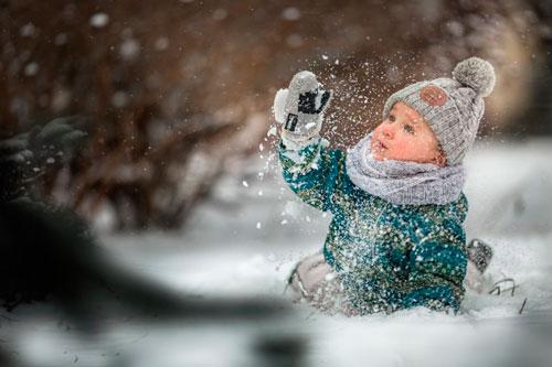 Стихи про снежинки