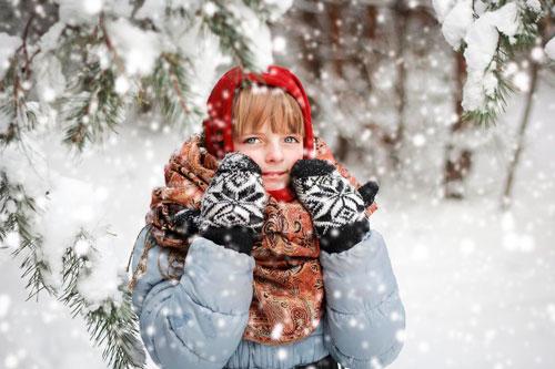 Стихи про снежинку для детей
