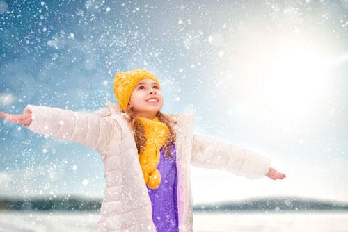 Красивые стихи про снежинки для детей
