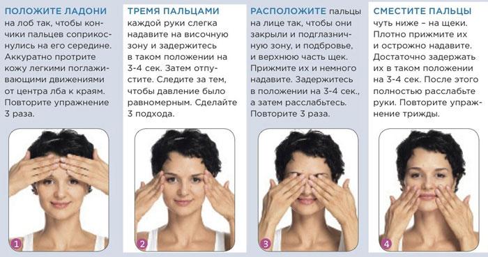 упражнения для кожи вокруг глаз от морщин