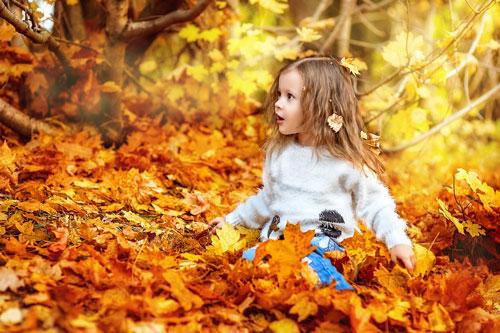 Короткие стихи про осень для детей в саду