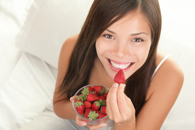 продукт от стресса для женщин: ягоды
