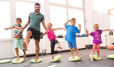 как развить координацию у детей в 3-4 года