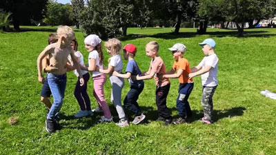 Игры на развитие координации у детей