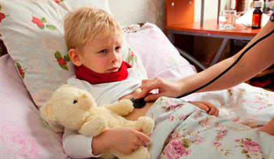 Ребенок 5 года заболевает в детском саду