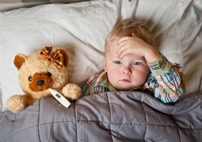 Ребенок 2 года заболевает в детском саду