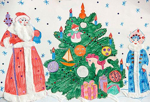 Короткие стихи про Новый год для детей 4-5 лет