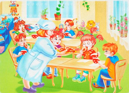Короткие и красивые стихи про детский сад для детей 3-5 лет