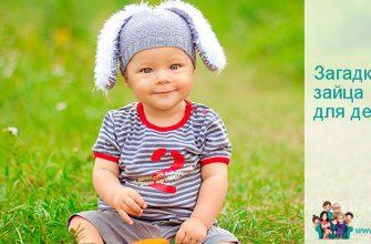 Загадки про зайца для детей