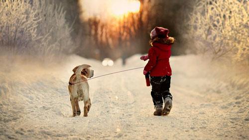 Красивые стихи про первый снег для детей 5-7 лет