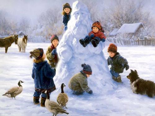 Красивые стихи про декабрь для детей
