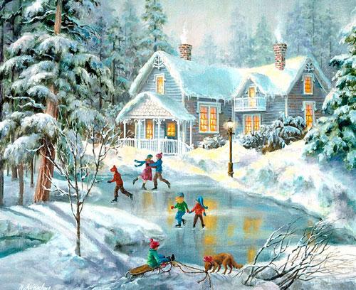 Короткие и красивые стихи про зиму