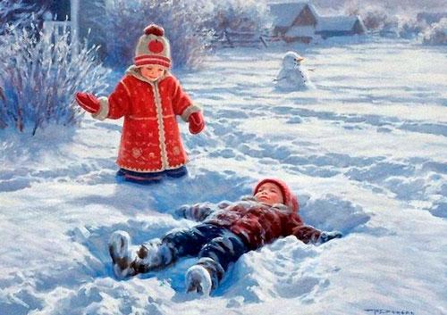 Стихи про февраль для детей 5-7 лет