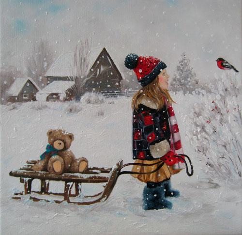 Короткие стихи про снегирей для детей