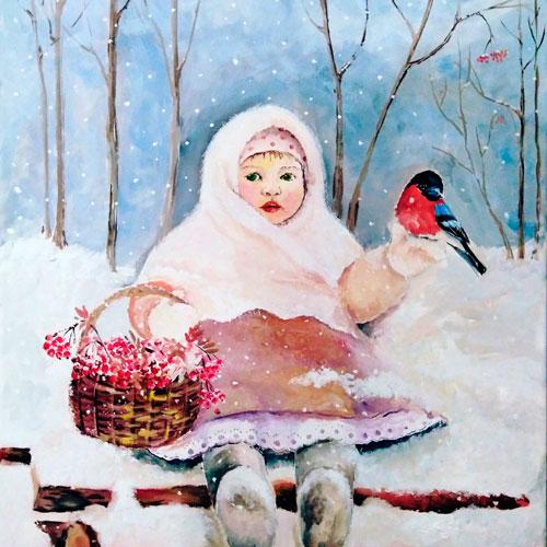 Стихи про снегирей для детей 5-7 лет