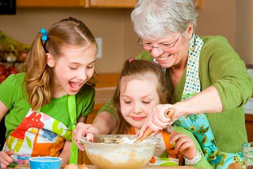 Стихи про бабушку для детей 4-5 лет