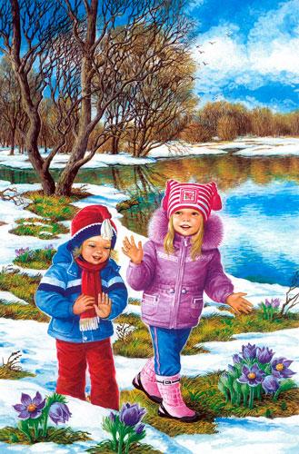 Стихи про весну для детей 5 лет