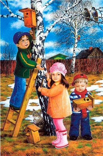 Красивые стихи про весну для детей 4-5 лет
