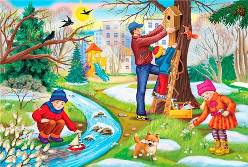 Короткие стихи про весну для детей 4-5 лет