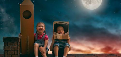 Загадки про космос для детей 4-5 лет