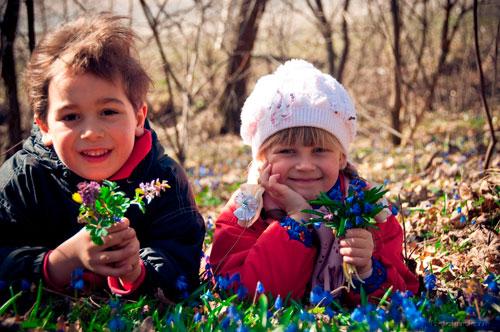 Красивые стихи про апрель для детей 4-5 лет