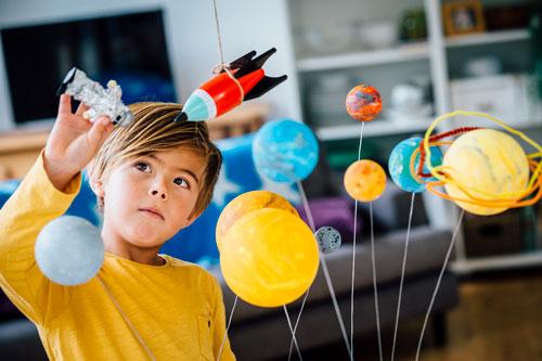 Стихи ко дню космонавтики для детей 7-9 лет