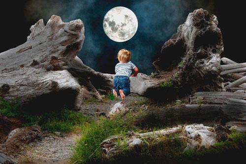 Загадки про луну для детей с ответами