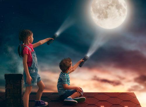 Загадки про луну для детей 4-5 лет