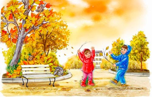 Стихи про месяца года для детей дошкольного возраста: сентябрь