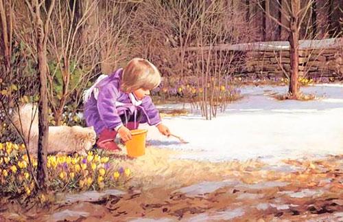 Стихи про месяца года для детей дошкольного возраста: апрель
