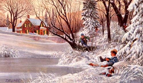 Стихи про месяца года для детей дошкольного возраста: февраль