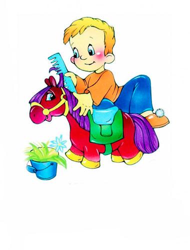 Стихи для детей Агнии Барто: Я любллю свою лошадку