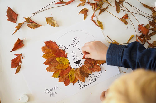 занятие для трехлетнего ребенка осенью