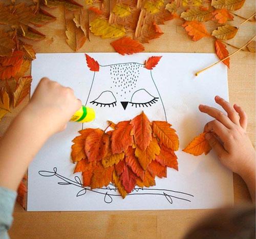 занятия для детей осенью 2